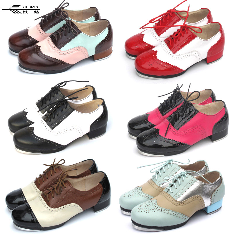 New Design Reliable Quality Tap Dance Shoes Made in China/Tap Shoes/Shoes Tap 26COLORS 40pcs tap