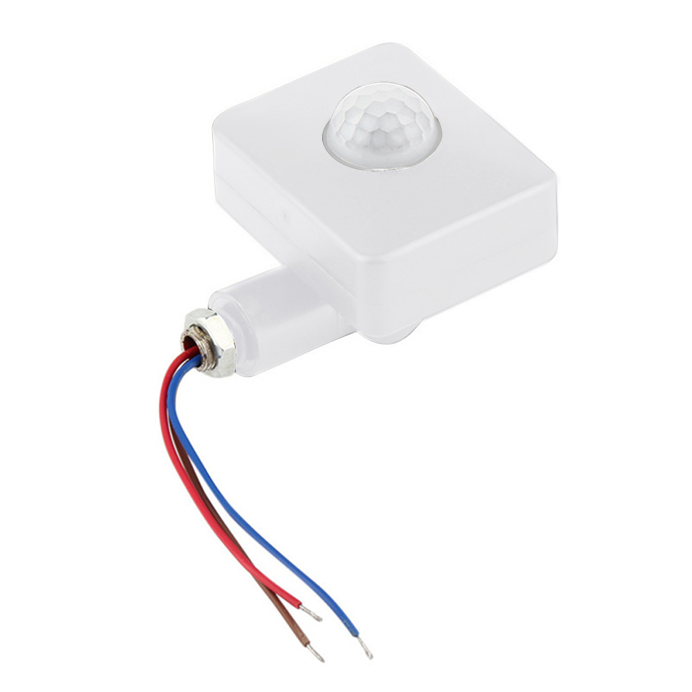PIR Infrared ABS Outdoor Automatic Switch  85-265V LED Light Motion Sensor Detector Prtical Security Mini 160 Degrees HomePIR Infrared ABS Outdoor Automatic Switch  85-265V LED Light Motion Sensor Detector Prtical Security Mini 160 Degrees Home