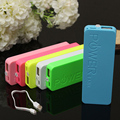 Newest Ultra-thin Real 3000mah Power bank perfume polymer mobile power bank general charger external backup battery pack
