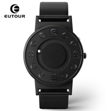 hot deal buy 2017 new style cute black mens watches magnetic ball casual fashion watch simple mimimalist watches creative men clock 30