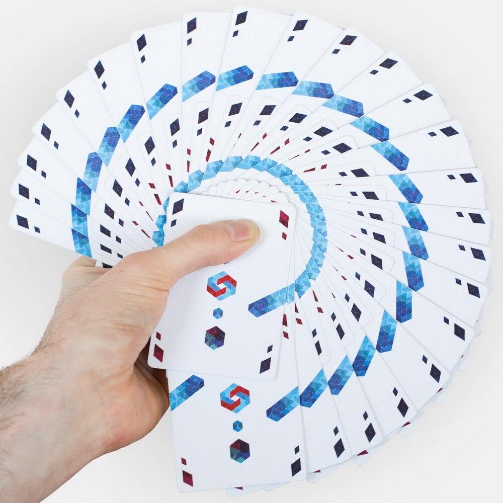 1 Deck origine Cardistry tactile cartes à jouer les Fans de CARDISTRY Deck préféré tours de magie - 3