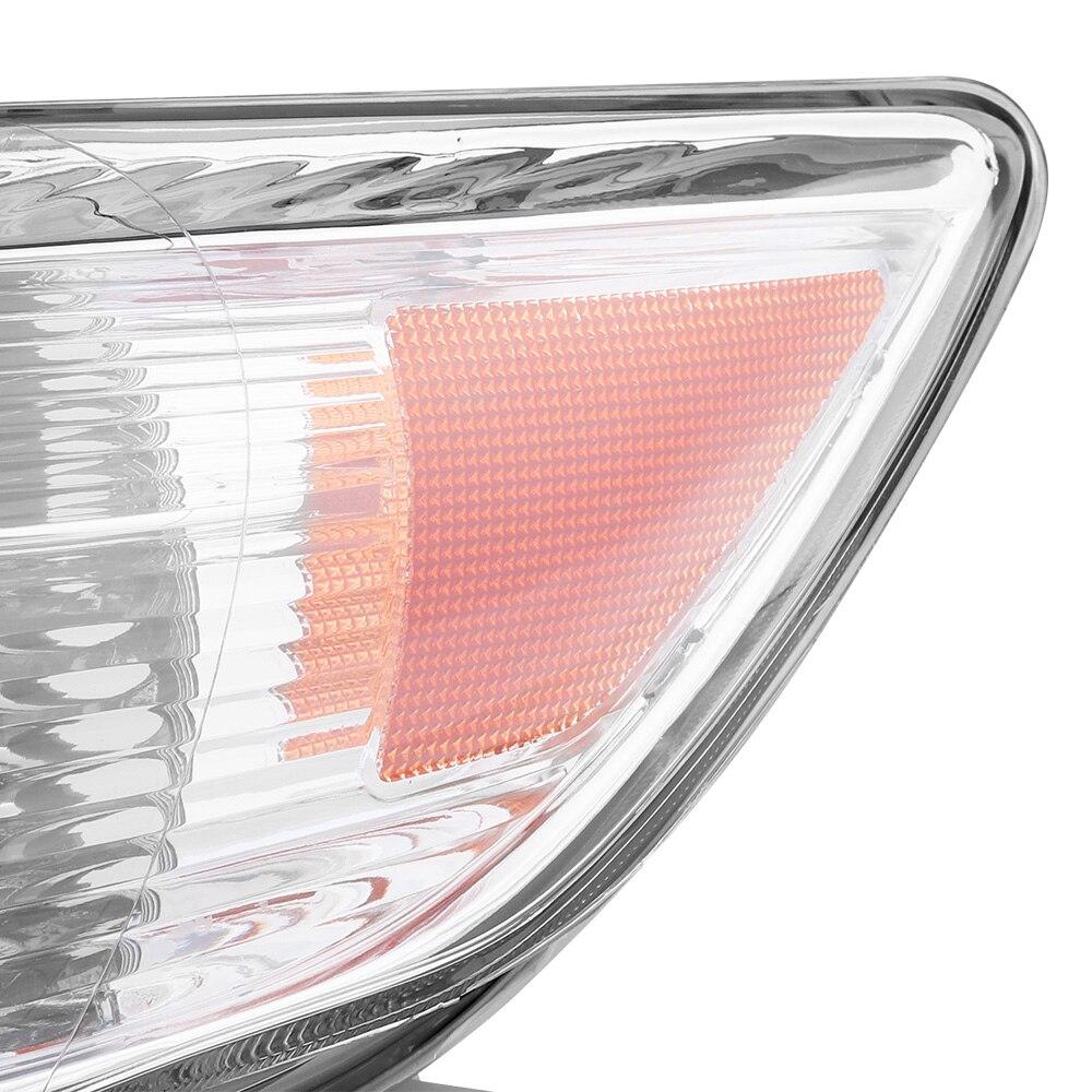 Image 3 - Водонепроницаемые крепкие фары прозрачный проектор левый и правый 2 шт Замена фар США Встроенная модель-in Передние светодиодные фары для авто from Автомобили и мотоциклы