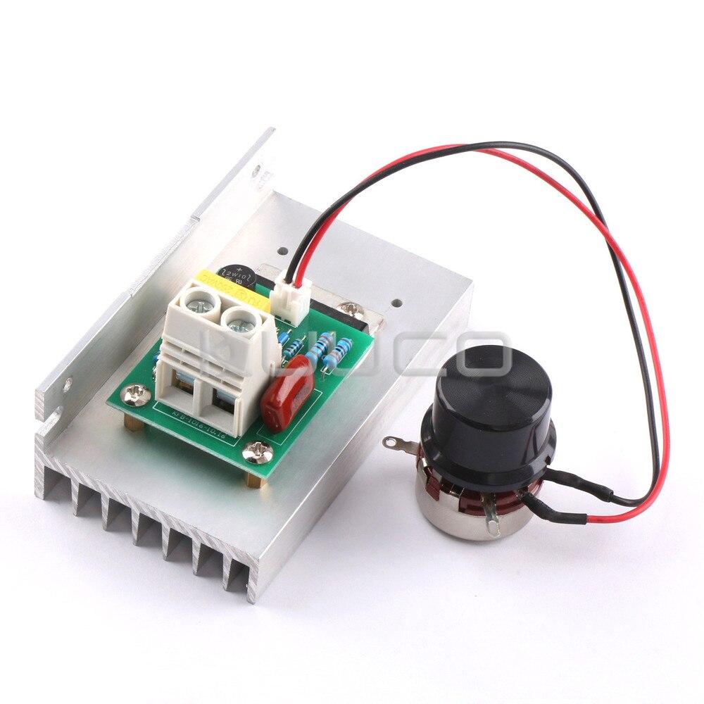 High Power SCR Controller AC220V 10000W Adjustable Voltage Regulator for water heater/lighting/motor/electric iron etc