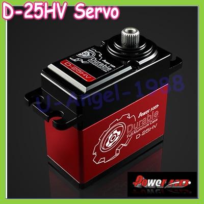 все цены на 100% orginal POWER HD D-25HV High Voltage Digital Servo CNC shell Compatible futaba JR SAVOX онлайн