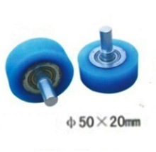 M10-50x20mm   Wrapping machine silicon rubber wheels Pressure roller with bearing