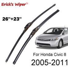 Щетки стеклоочистителя Erick's для Honda Civic 8 седан, для лобового стекла, переднего стекла, 26 и 23 дюйма (тип космического корабля)
