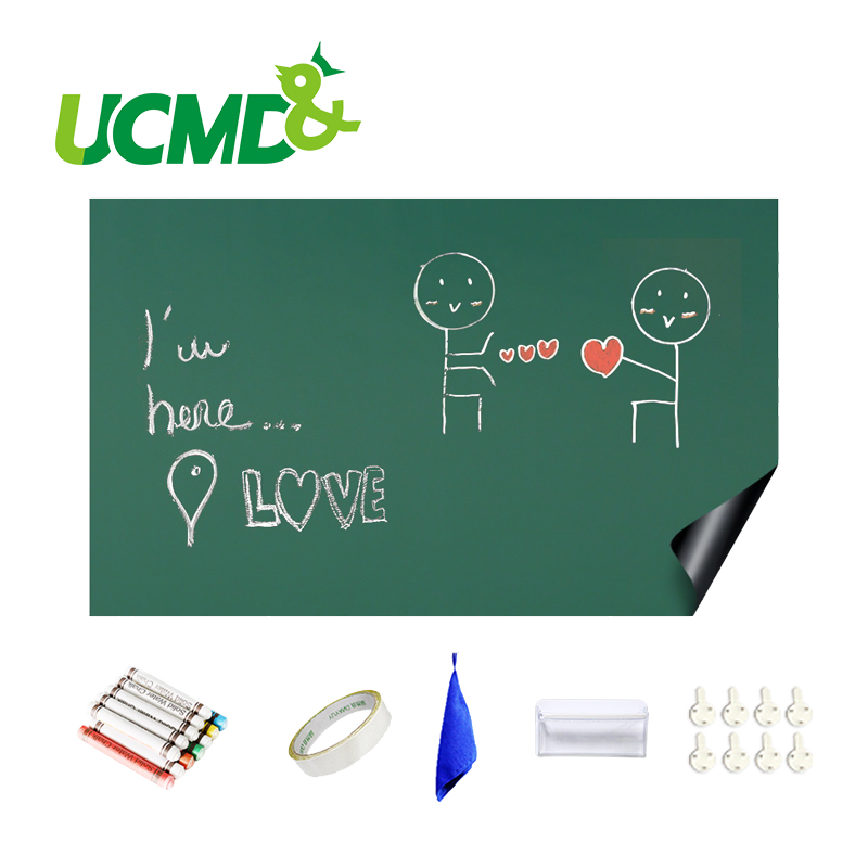 Green Drawing Board Toys Removable Erasable Drawing Graffiti Writing Learning Message Chalk Board Toy Kids Child Teaching Aids in Drawing Toys from Toys Hobbies