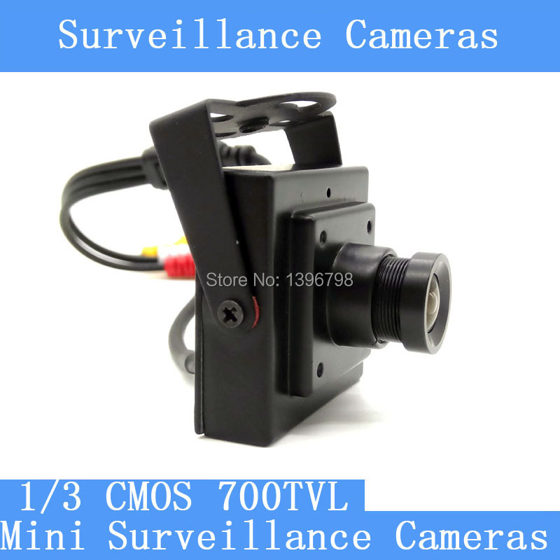 New Arrival Mini HD 3 7mm 92 degree Camera 700TVL 1 3 CMOS Surveillance Color CCTV