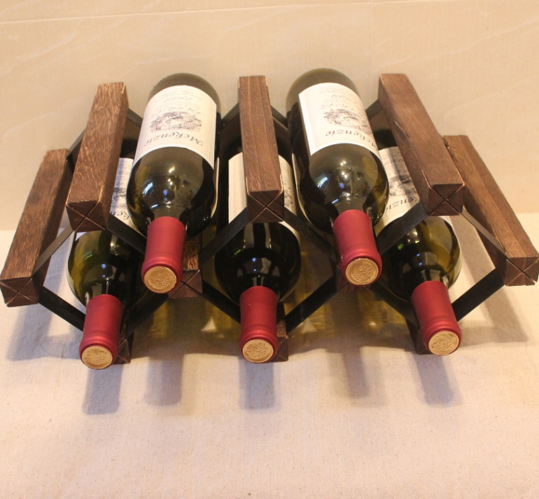 Paulownia Wood Wine Rack with Lacquer DIY Assembled 5 Bottle Japanese Style Wine Holder Display Suitable for Home, Hotel and Bar bulin bl100 b15 mini portable outdoor gas stove foldable camping split gas burner camping cooking