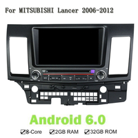 1024 600 8 Inch Eight Core 2G RAM Android 6 0 Car DVD Player For MITSUBISHI