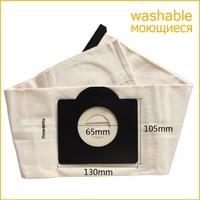 Vacuum Cleaner Bag Washable Dust Bag For Vacuum Cleaner Rowenta Karcher HR6675 Nalaska Fakir Fif Wirbel