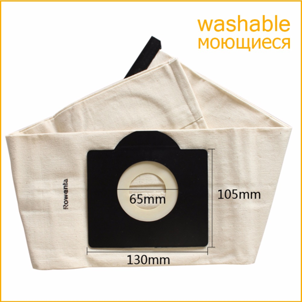 все цены на Vacuum Cleaner Bag Washable Dust Bag for Vacuum Cleaner Rowenta Karcher HR6675 nalaska fakir fif wirbel soteco,foma etc