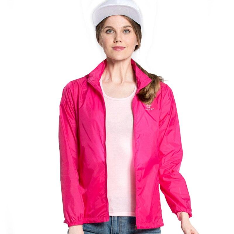 Women Men Spring Summer Outdoor Sport Ultra Thin Skin Jacket Windbreaker Waterproof UV Protection Quick-dry Hiking Jackets RW027