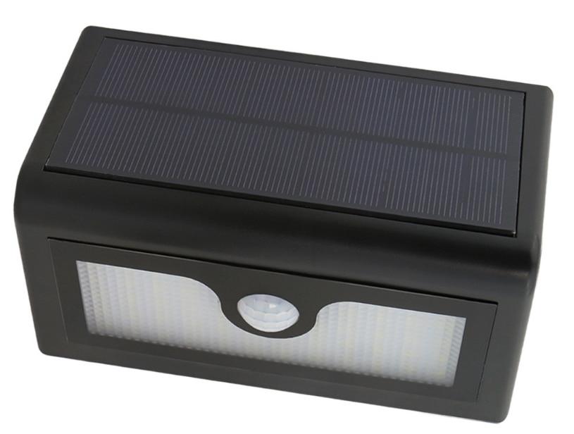 50 LEDs Bewegingssensor LED Solar Lamp Waterdicht Buiten Tuin Licht - Buitenverlichting