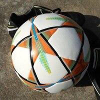 2018 Premier PU Soccer Ball Official Size 5 Football Goal League Outdoor Match Training Balls Gifts