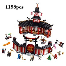 2019 New Ninja Monastery Of Spinjtzu Compatible legoingly Ninjagoes Building Blocks Bricks Children Toys Christmas Gifts 1198PCS