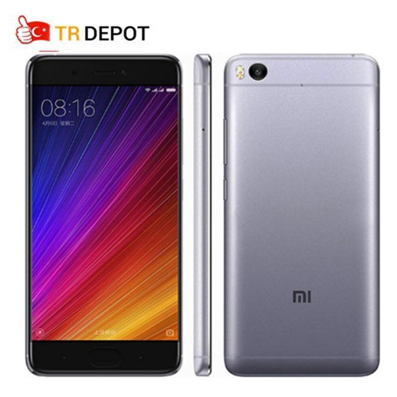 Original Xiaomi Mi5s Mi 5s Snapdragon 821 Quad Core NFC Fingerprint ID FDD 3GB RAM 64GB ROM 12MP 5.15″ 1080P MIUI 8 Mobile Phone