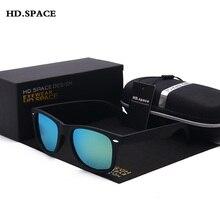 HD.SPACE Men Sunglasses 2017 NEW Fashion Polarized Driving Brand designer Sun glasses UV400  Vintage oculos de sol masculino