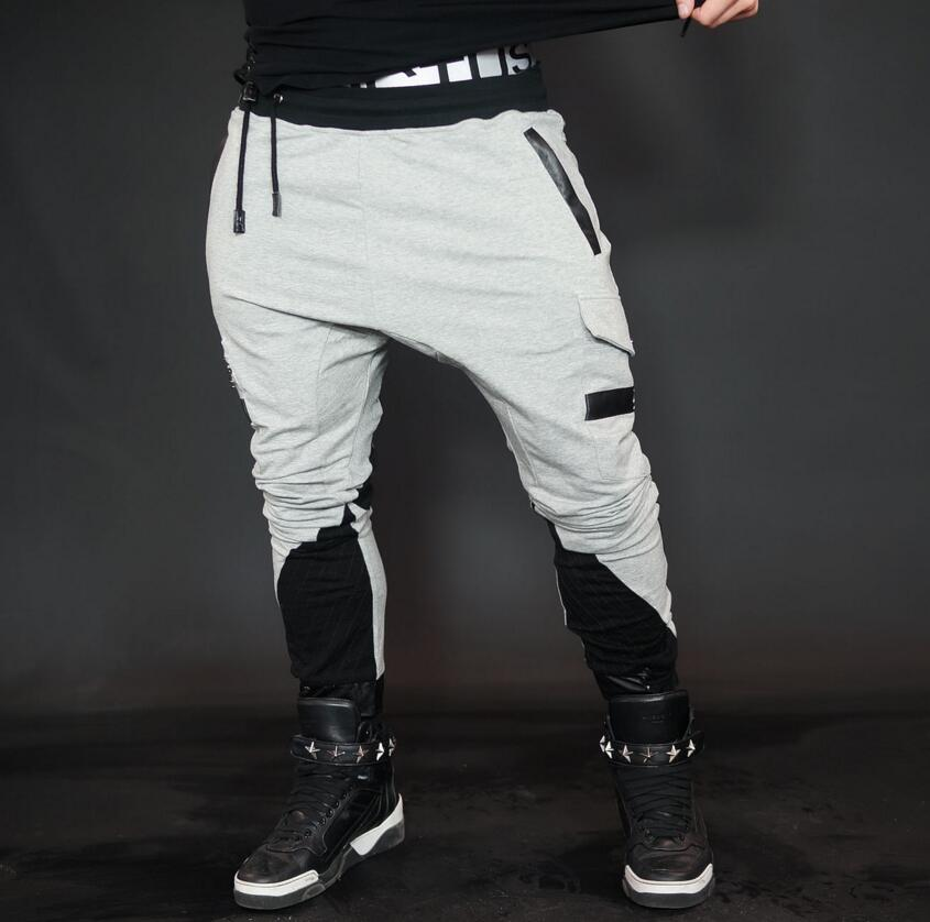 2017 GYMS New Men Pants Compress Gymming Leggings Men Fitness Workout Summer Sporting Fitness Male Breathable Long Shark Pants
