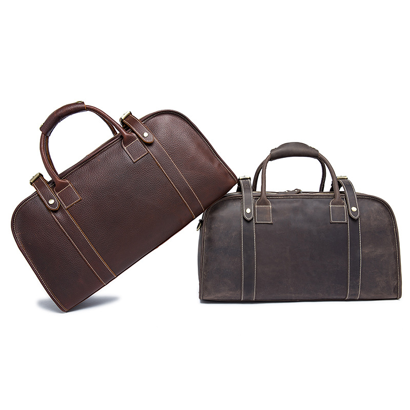 2018 Special Offer Super Large Genuine Portable Travel Bag For Men Crazy Horse Leather Luggage Retro Men's Weekender Duffle offer wings xx2449 special jc australian airline vh tja 1 200 b737 300 commercial jetliners plane model hobby