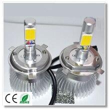 Высокое качество Двойной луч Привело ярких фар автомобиля замена фары H4 9003 HB2 6000 К 30 Вт 3000LM Дальнего УДАРА источник лампа