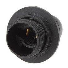 10 шт. черный патрон E14 Цоколь патрон лампы