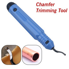 Professional Burr Trimming Cutter Hand Deburring Tool Mini Refrigeration Copper Tube Pipe Cutter Edge Removing Tools knob cutter branch cutter tian bonsai tools concave cutter round edge cutter 290 mm 11 5 8