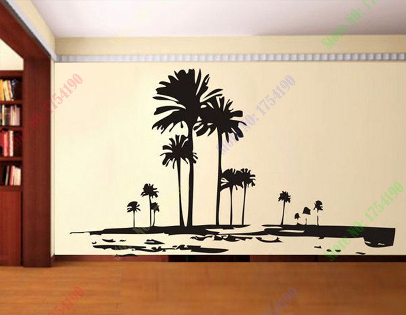 Aliexpress.com : Buy Tall Palms Tree Wall Decal Retro Wall Deor Of Trees  Unique Wall Sticker From Reliable Palm Tree Wall Decal Suppliers On Rose  Fashion ... Part 22
