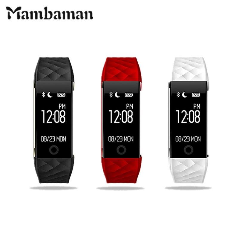 2017 Mambaman New Original S2 Smart Band Anti lost Smartwatch Heart Rate Monitor Notification Gps Sport