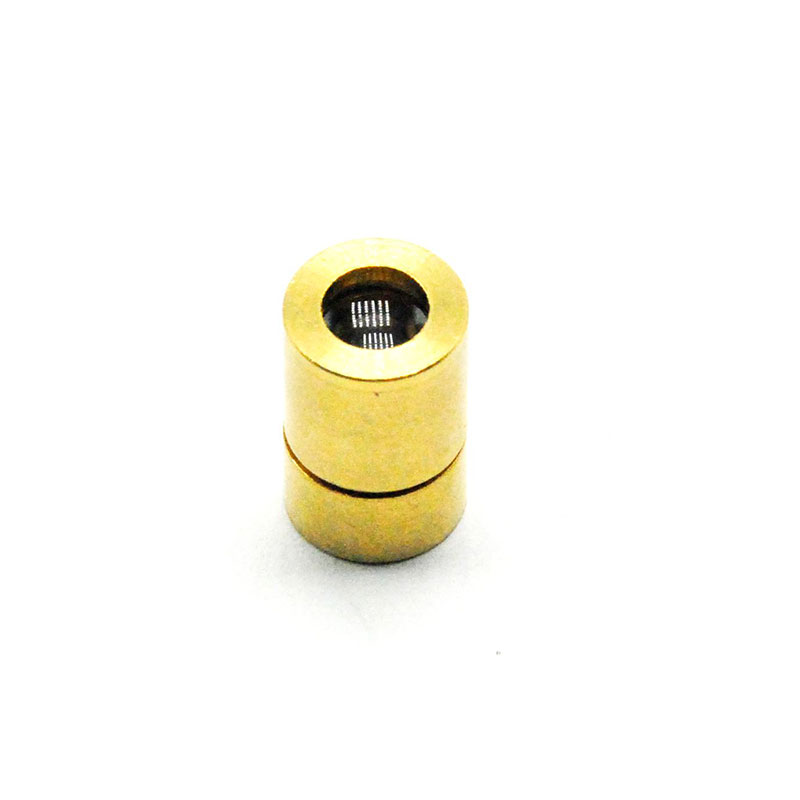Mini Copper 5.6mm Laser Diode Case/Housing 8x13mm Host W/ Dot Focus Collimating Lense