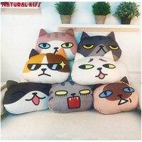 New Creative biểu tượng cảm xúc 3D almofada emoticon Gối cho Ghế Trang Trí Tấm Phủ sofa Mèo Smiley Mặt Gối Dễ Thương ghế đệm