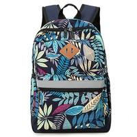 Backpack Female Backpack Travel bag New Color College Wind Student bag