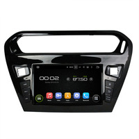 Android 5 1 1 Quad Core Fit PEUGEOT 301 2013 2014 2015 Car DVD Player Navigation