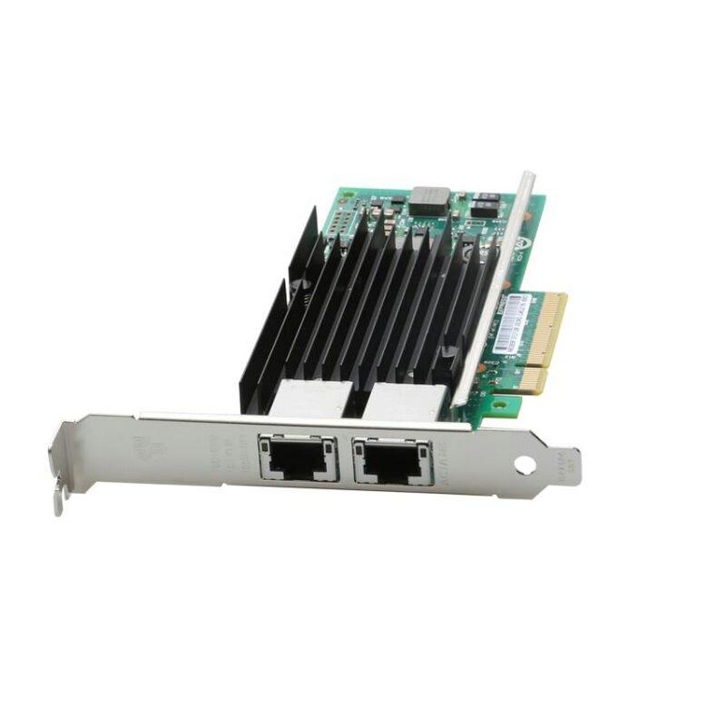 Новый двойной электрические порты высокоскоростной процессор Intel X540 10 Гбит gigabit lan сети сервера волокна карты