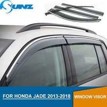 Window Visor for Honda JADE 2013-2018 side window deflectors rain guards 2013 2014 2015 2016 2017 2018 SUNZ