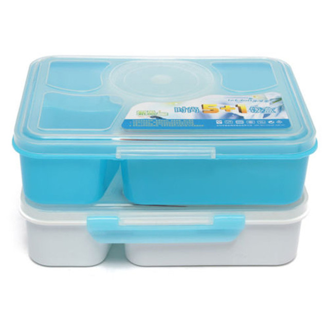 Details about Dinnerware Sets Divided Food Storage Container Freeze Store Microwave SAFE High Quality  sc 1 st  AliExpress.com & Details about Dinnerware Sets Divided Food Storage Container Freeze ...