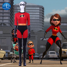 The Incredibles 2 Cosplay Costume Elastigirl Helen Parr Halloween Costumes For Women Custom Made Hot Sale