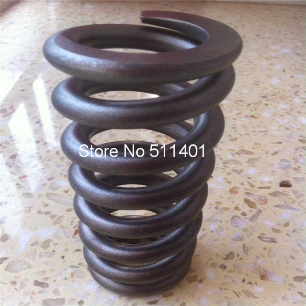 Ressort hélicoïdal en titane pour choc de vélo, ressort en titane Gr5 22 bobines, longueur: 369mm diamètre extérieur: 29.3mm diamètre intérieur: 20.2