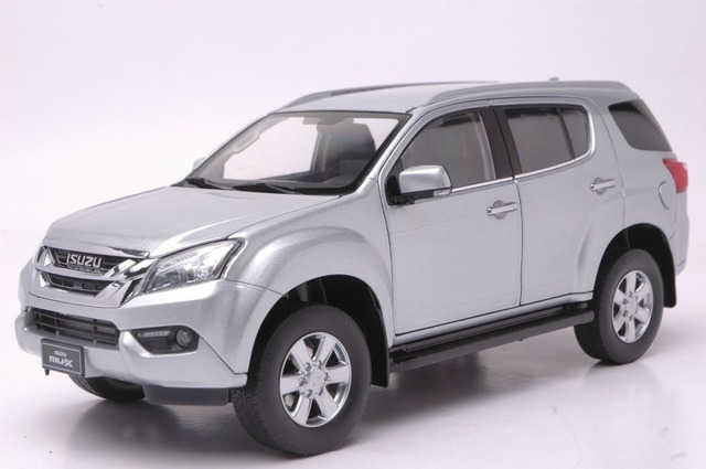 Aliexpress buy 118 scale diecast model car for isuzu mu x 118 scale diecast model car for isuzu mu x suv silver alloy toy sciox Image collections