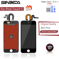 Sinbeda 5pcs/lot LCD Screen Replacement For Apple iPod Touch 5 lcd display + Touch Screen digitizer