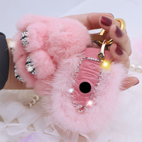Diamond Feather car key case cover/ key shell for BMW 1 2 3 4 5 6 7 series X3 X4 Car Smart Remote Key Cover For Girls Women