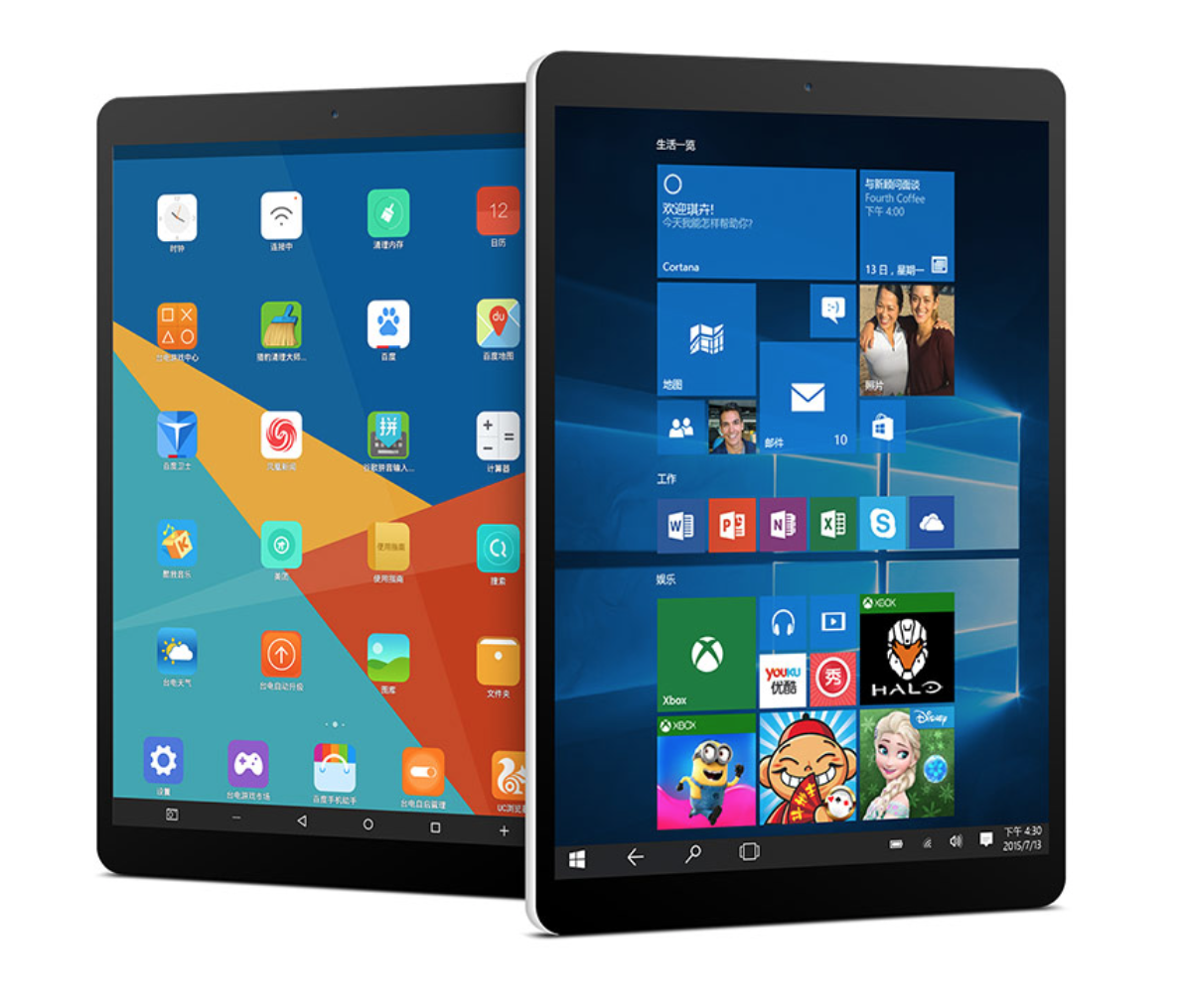 Teclast X89 Kindow E-book Reader 7.5 inch Dual OS Windows 10 & Android 4.4Intel Bay Trail Z3735F 2G + 32G Quad Core Tablet PC