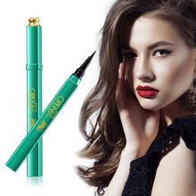 Eyebrow Color Pencil Black Liquid Eyeliner Long-lasting Waterproof Eye Liner Pencil Pen Nice Makeup Cosmetic Tools Green Peacock цены