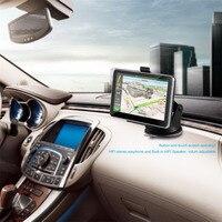 Portable Car GPS Units 5 Screen Touch Screen Bluetooth GPS Navigator HIFI Speaker EU Map Locations