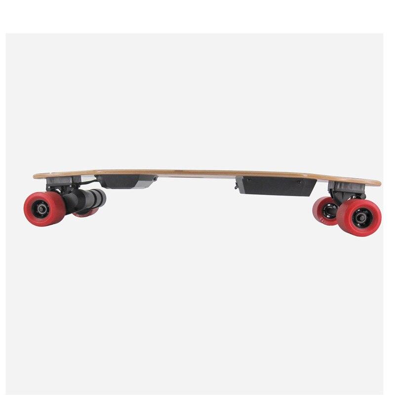 Skateboard électrique Longboard T-Ombre led LightsBelts Double Moteurs Sans Fil télécommande Électrique Scooters 300 Lbs charge maximale - 3
