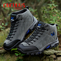 ZHJLUT Men's Boots 2017 Winter Men Outdoor Shoes Cotton-padded Warm Ankle Boots Waterproof Work Snow Boots For Men Footwear 558