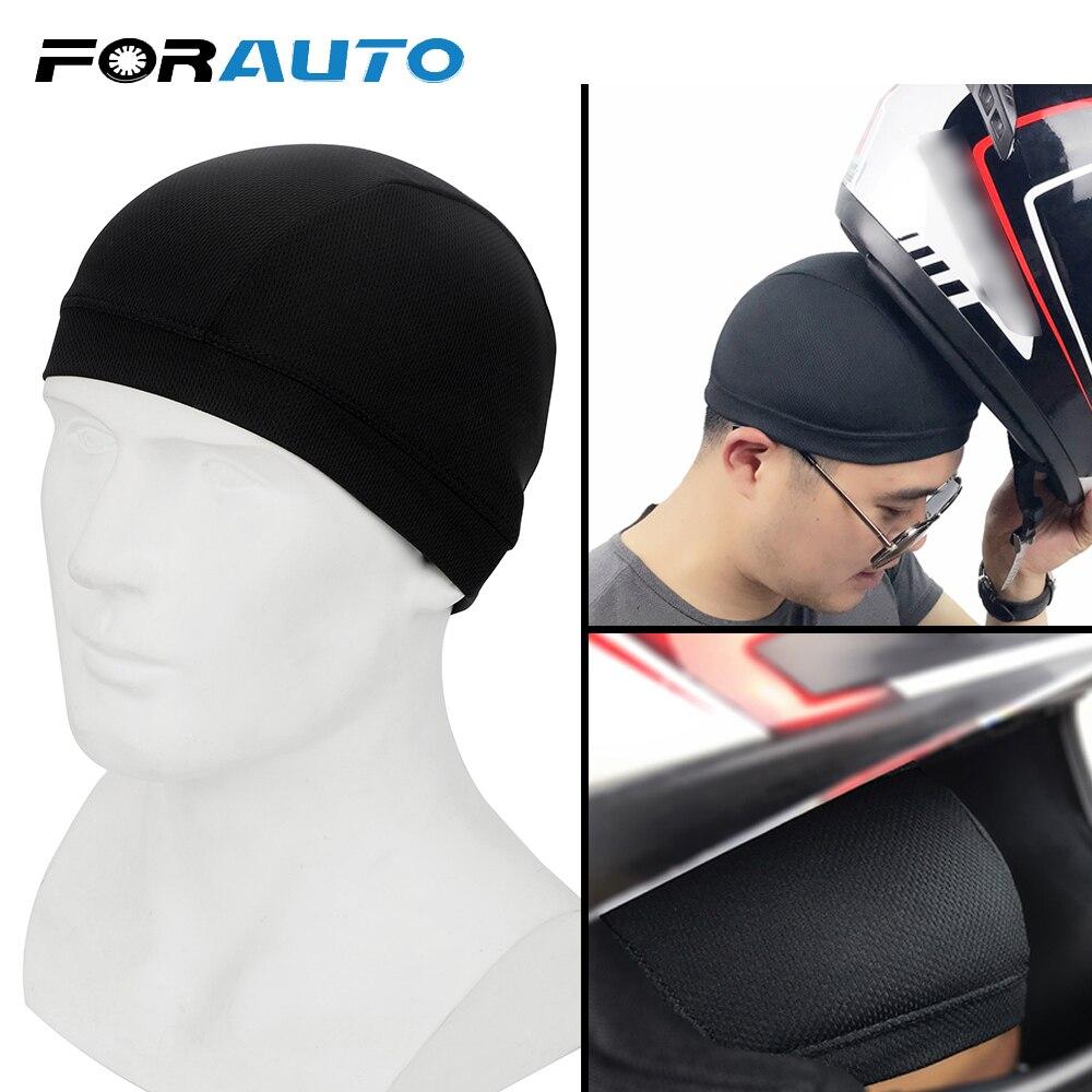 FORAUTO Unisex Motorcycle Helmet Inner Cap  Quick Dry  Racing Cap Under Helmet M/L Breathable Hat