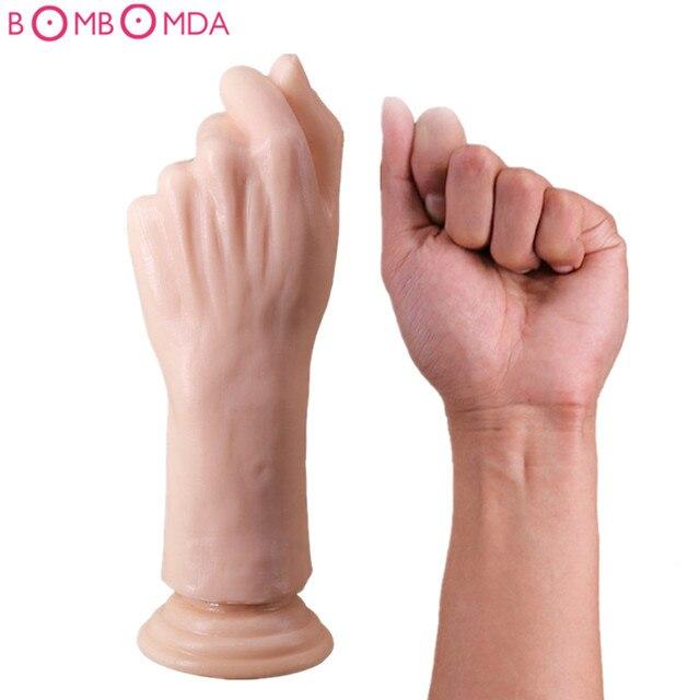 hand anal sex