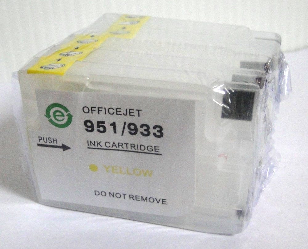Refillable ink cartridge for HP 932 HP 933 HP932 HP933 for HP Officejet 6100 6600 6700 7110 with chip(show ink level for ever) paola reina кукла горди бони 34см мальчик