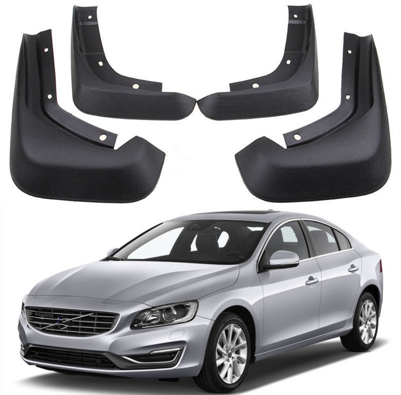 Car styling Mud Flaps Splash Guards Fender Mudguard fit For 2010 2018 Volvo S60